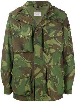 Belstaff куртка с капюшоном и камуфляжным принтом 71050507C61N0488