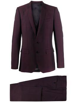 Dolce&Gabbana костюм-тройка строгого кроя GK3YMTFU3PU