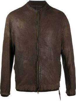 Salvatore Santoro куртка с эффектом потертости 38535U