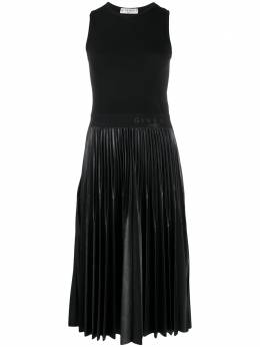 Givenchy платье миди со складками BW20UL30GL