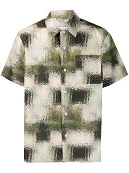 Saturdays Nyc рубашка с геометричным принтом M22030AP01