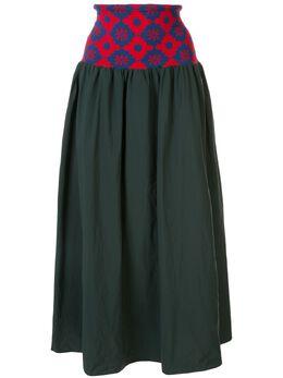 Kolor юбка с завышенной талией и эластичным поясом 20SCLS04102