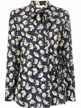 Chloe блузка с цветочным принтом CHC20SHT40335