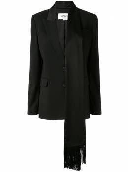 Monse блейзер с шарфом на воротнике MR201103SWG