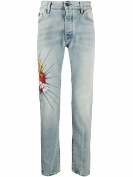Palm Angels джинсы Sacred Heart PMYA012S203430188588