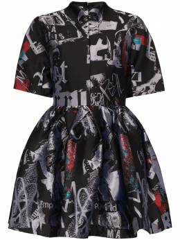 Marques'Almeida парчовое платье мини Riot Girl SS20DR0172BRC