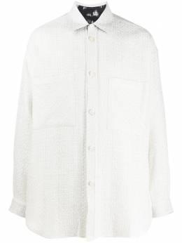 Faith Connexion рубашка с длинными рукавами и логотипом из кристаллов X1819T00543