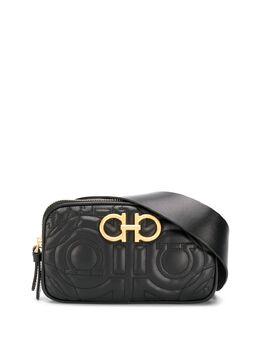 Salvatore Ferragamo поясная сумка с логотипом 0711269