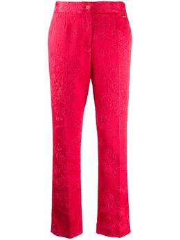 Blumarine жаккардовые брюки 20604