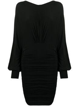 Alexandre Vauthier платье мини с открытой спиной 201DR120901911029