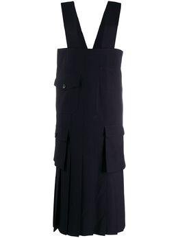 Comme Des Garcons Comme Des Garcons платье с накладными карманами REA001