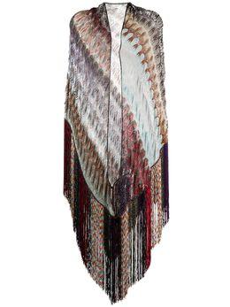 Missoni шарф с бахромой и вставками MDS00009BR007X