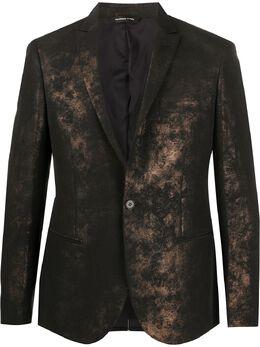 Tonello пиджак с эффектом металлик 01G203X3134U