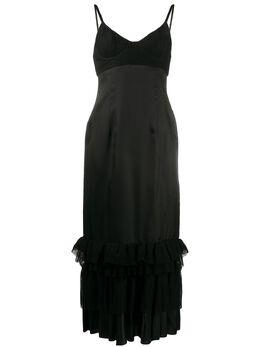 Brock Collection платье-комбинация с кружевом BRPQ503800