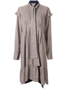Maison Mihara Yasuhiro платье с бантом B04DR182