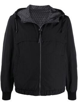 Salvatore Ferragamo куртка на молнии с капюшоном 0727386003