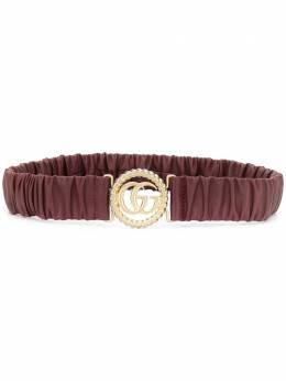 Gucci ремень с пряжкой-логотипом 602074B340G