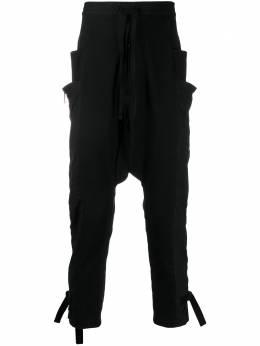 Unravel Project спортивные брюки с низким шаговым швом UMCF007S20FAB0021000