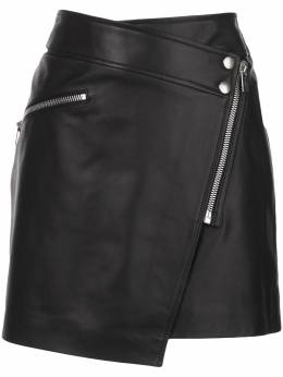 Anine Bing байкерская юбка мини Sarah A041025000