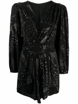 Isabel Marant декорированное платье мини RO165020P030I