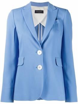 Piazza Sempione однобортный пиджак с заостренными лацканами PI074P0