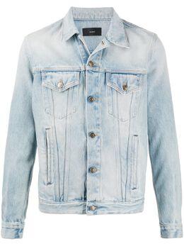 Alanui джинсовая куртка со вставками LMYE001S20011049K5K5