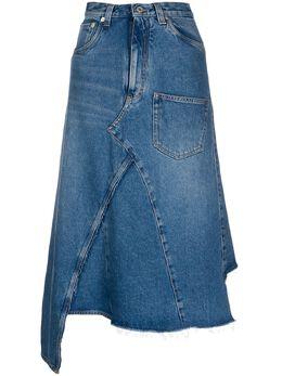 Loewe джинсовая юбка миди S2105350IB