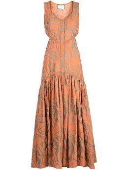 Alexis платье Garcelle с принтом и вырезами A52004165972