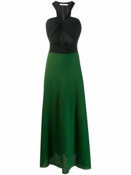 Givenchy двухцветное платье BW20HX10EG