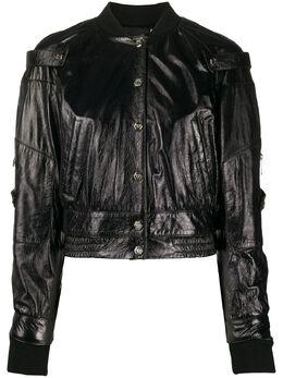 Philipp Plein куртка-бомбер S20CWLB0667PLE010N