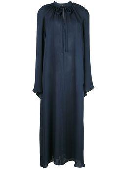 Voz платье миди с рукавами колокол 33212548