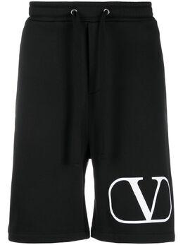 Valentino спортивные брюки с логотипом VLogo TV3MD02D63W