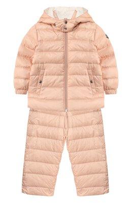 Комплект из куртки и комбинезона Moncler Enfant E1-951-70340-05-53048