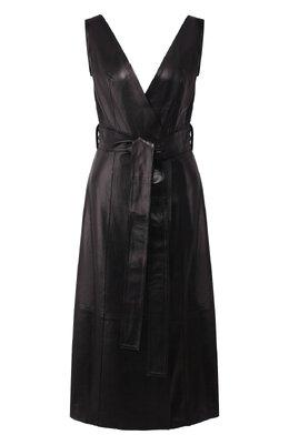 Кожаное платье Petar Petrov AWEL S20DL7
