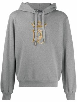 Dolce&Gabbana худи с вышитым логотипом G9OF9ZG7WDA