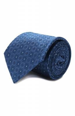 Шелковый галстук Luigi Borrelli LC80-B/TT9185