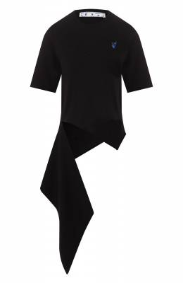 Хлопковая футболка Off-White 0WAA077S20JER0011045