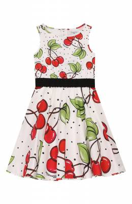 Хлопковое платье Monnalisa 115922