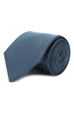 Шелковый галстук Luigi Borrelli LC80-B/TT9061
