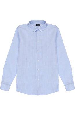 Хлопковая рубашка в клетку Dal Lago N402/2206/XS-L