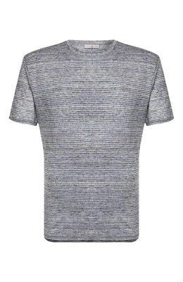 Льняная футболка Luciano Barbera 119565/81179