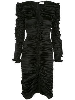 Magda Butrym коктейльное платье Pula со сборками 1665208007