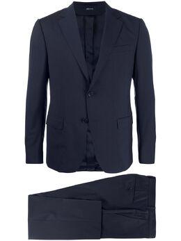 Z Zegna костюм-двойка с однобортным пиджаком 722738281CGA