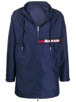 Moncler пальто на молнии с капюшоном F10911C70300549ML