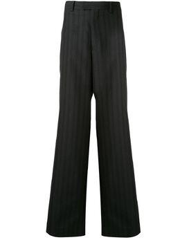 Undercover полосатые брюки широкого кроя UCY45021