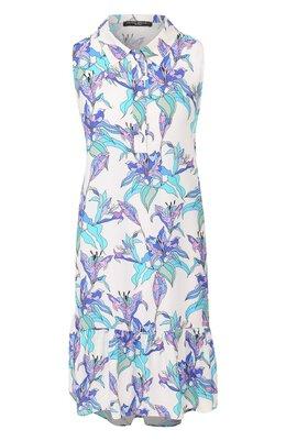 Платье с принтом Pietro Brunelli AM0162/VI0058