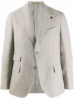 Gabriele Pasini фактурный пиджак с карманами G15079YGP15415