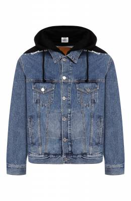 Джинсовая куртка Vetements SS20JA109 2801/W/BLUE