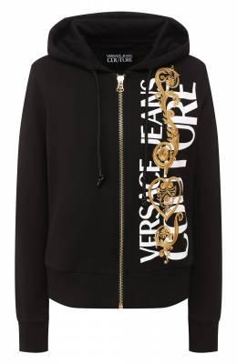 Хлопковая толстовка Versace Jeans Couture B6HVB71T-VDM306 15AW/30318