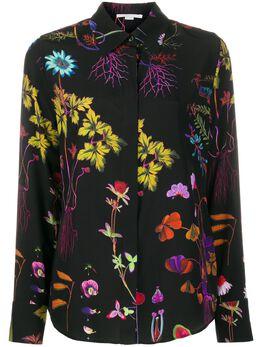 Stella McCartney рубашка с цветочным принтом 606912SOA10